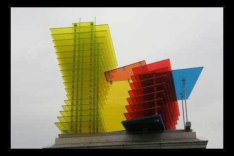 Construction Model For A Hotel 13